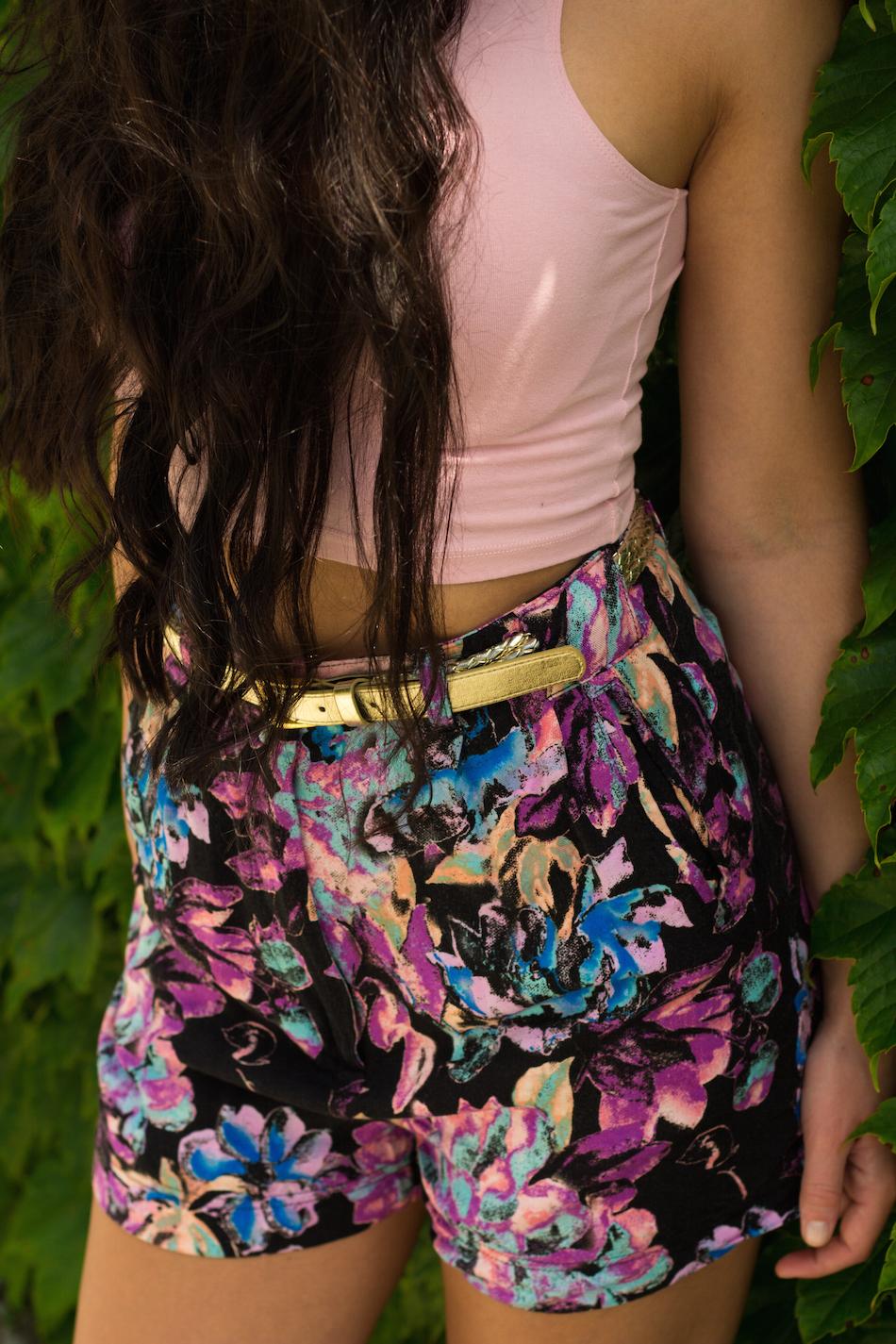 Monde et Mode | Floral Shorts