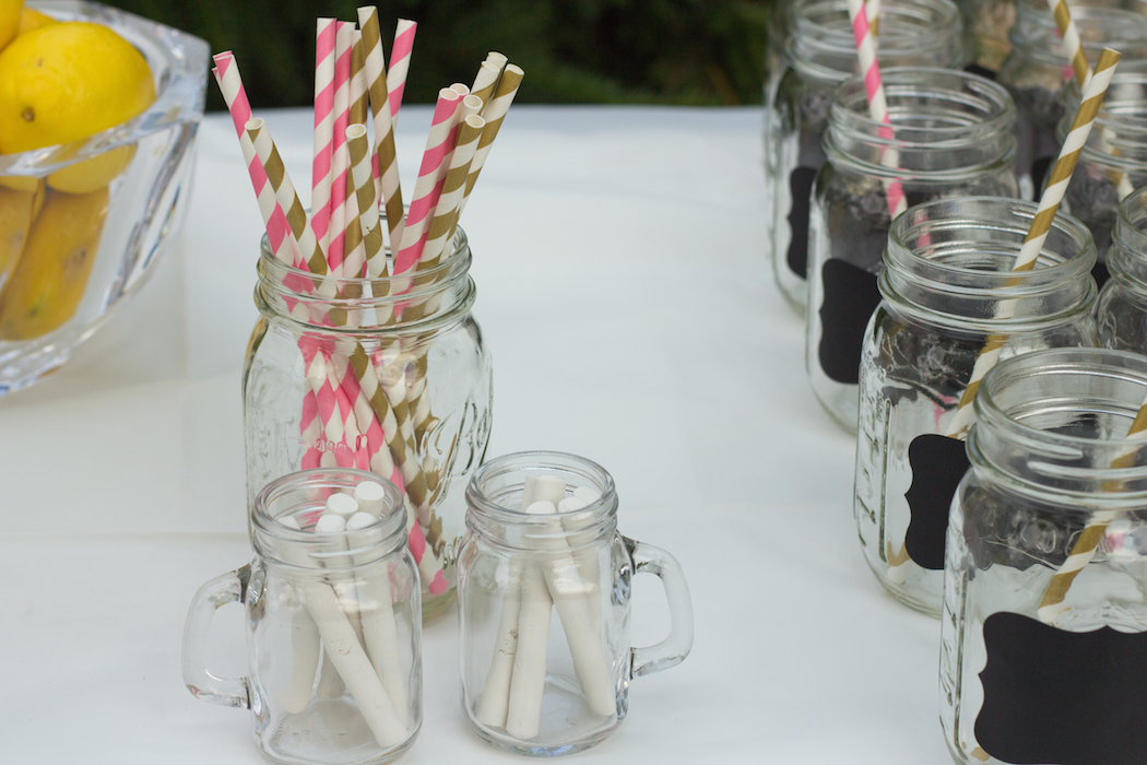 Bridal Shower Paper Straws