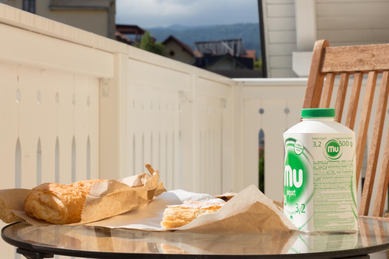 Breakfast in Bled