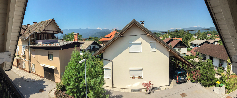 View from Vila Mia