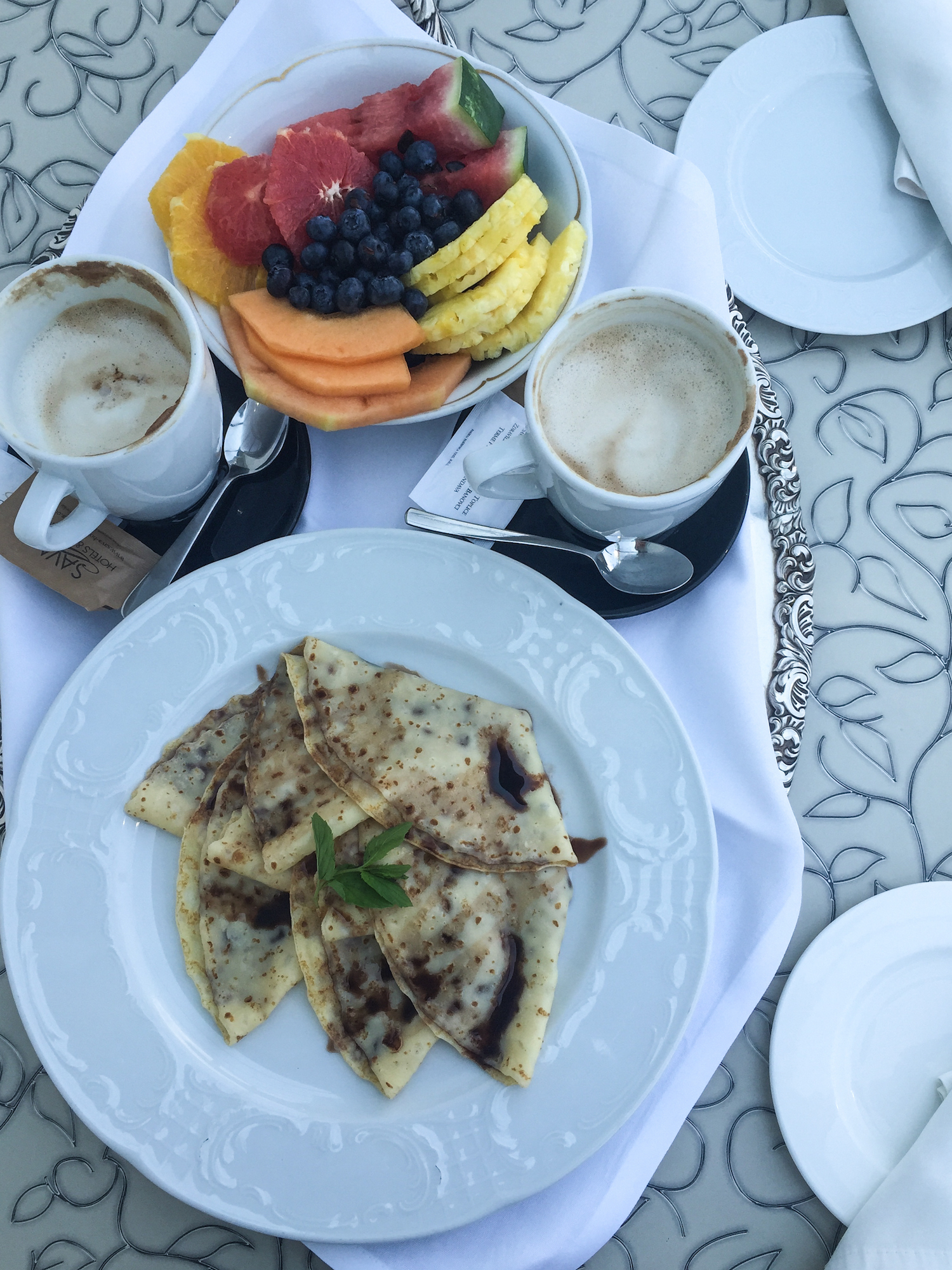 Breakfast at Grand Hotel Toplice