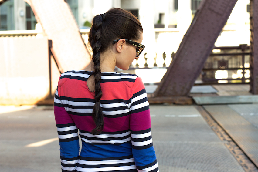 Monde et Mode | Stripes and the City