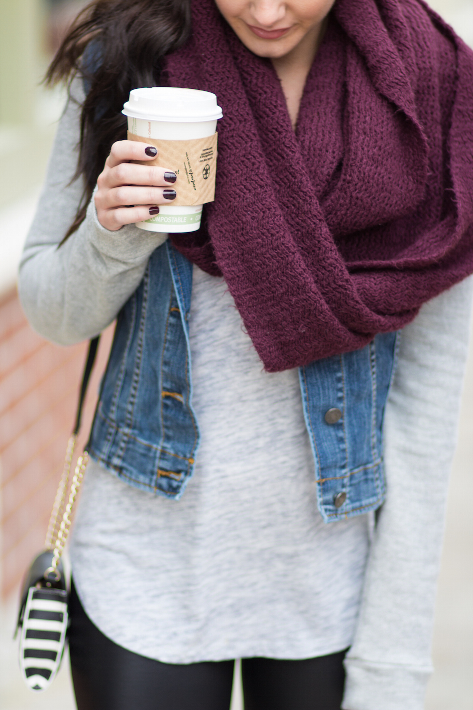 cozy layers + coffee