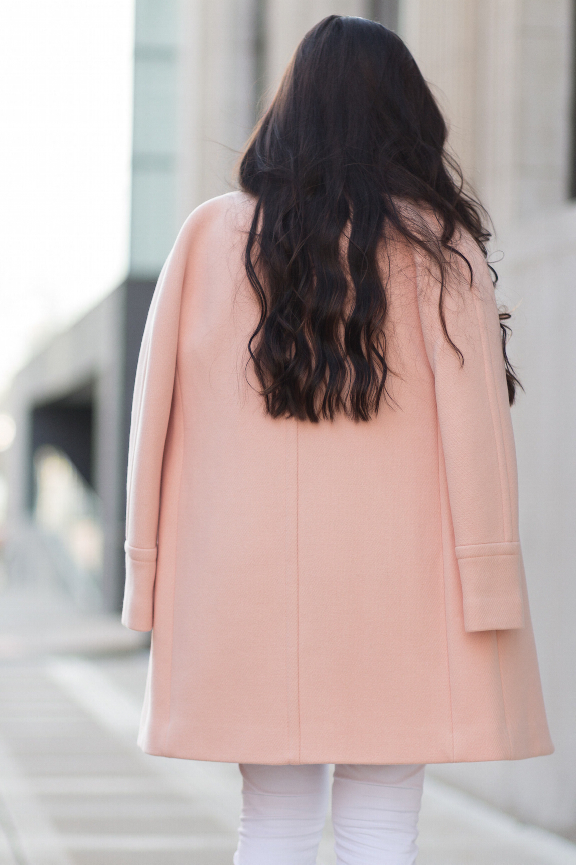 J. Crew Cocoon Coat Pale Ginger
