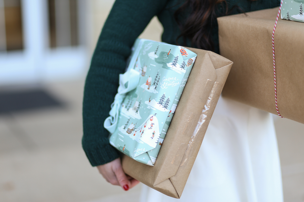 Rifle Paper Co. gift wrap
