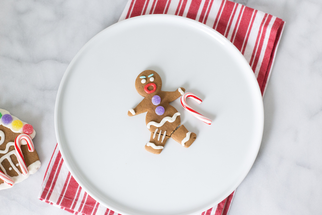 Gingy the gingerbread man