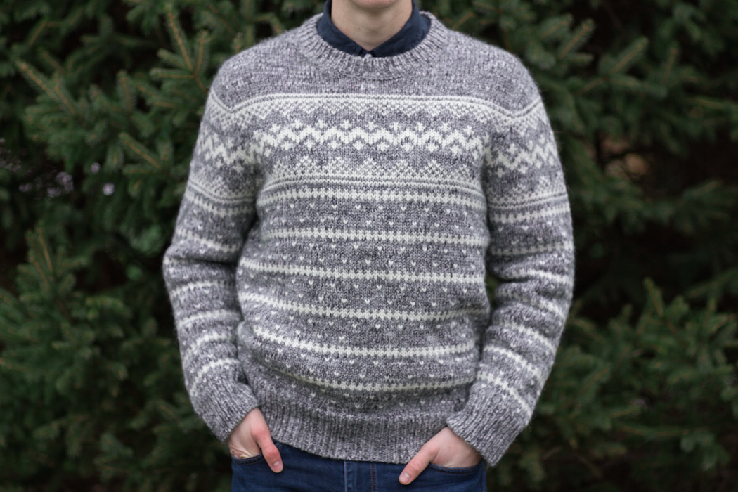 J Crew Fair Isle Sweater