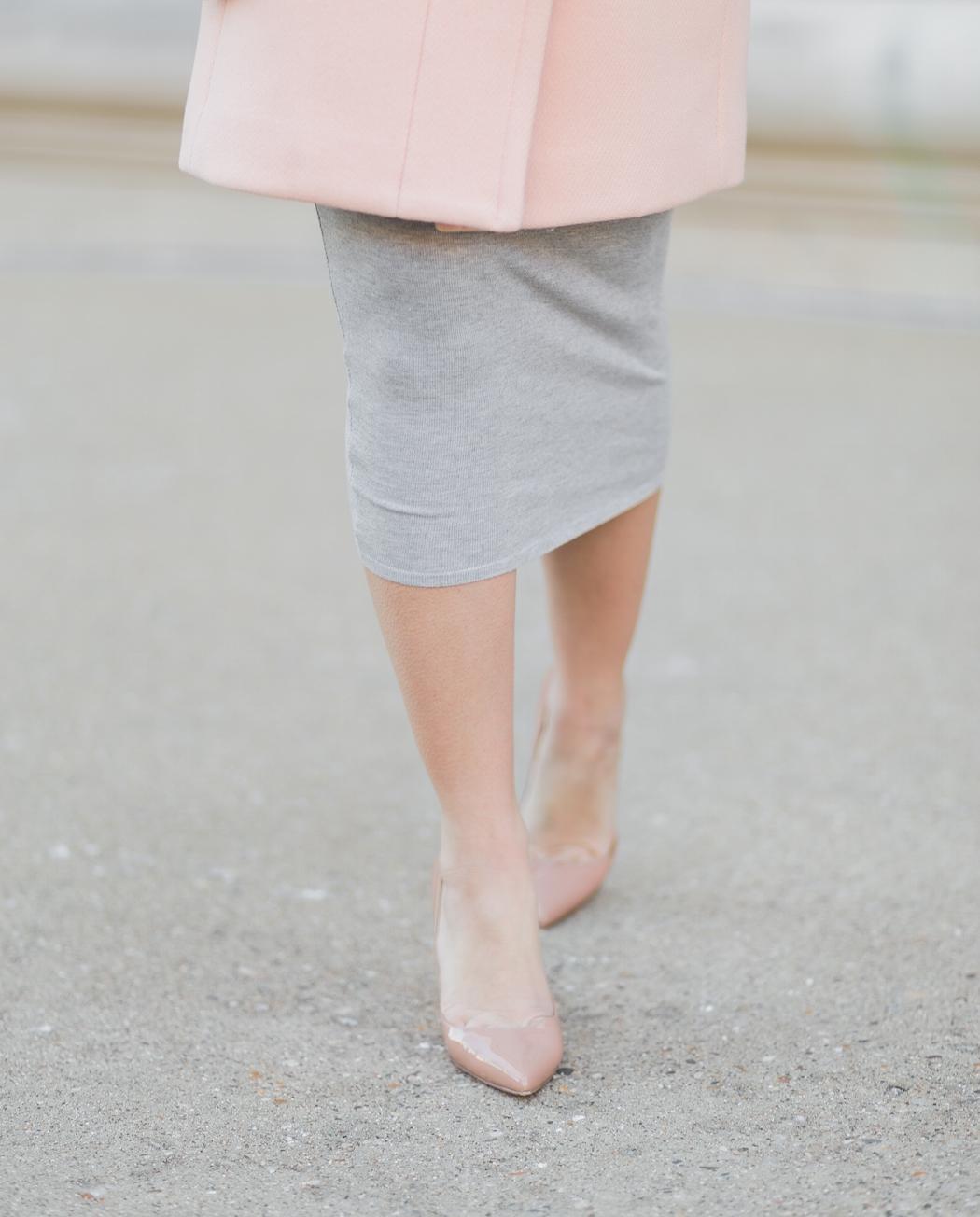 long line skirt