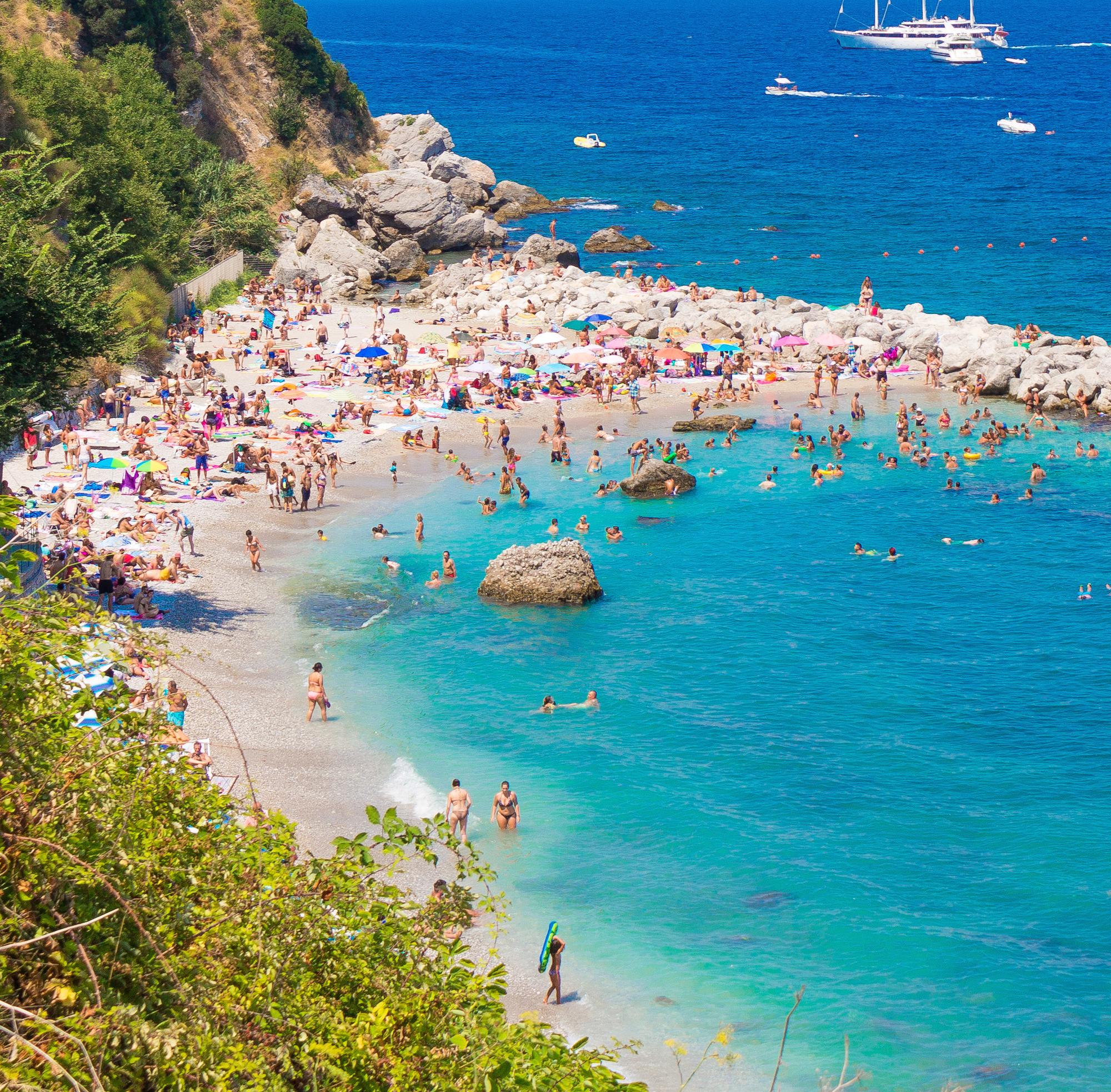 Monde et Mode | Spiaggia Marina Grande Capri