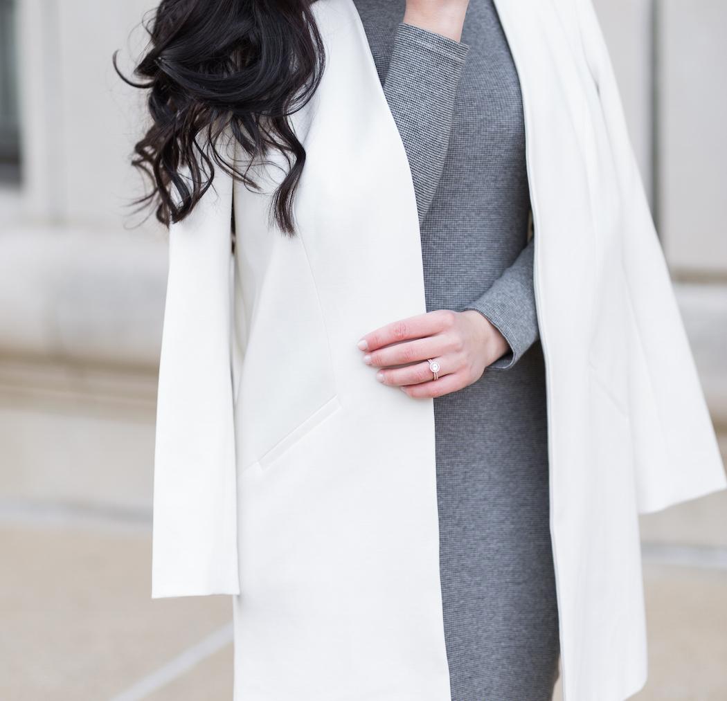 Monde et Mode | Structured Blazer + Fitted Dress