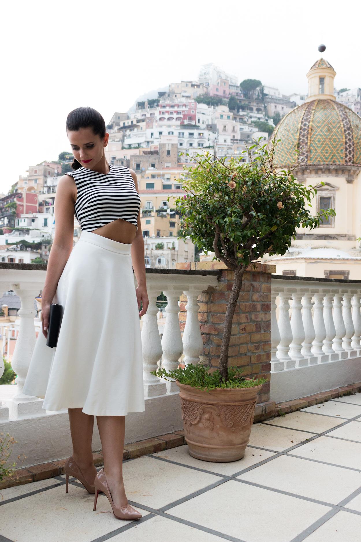 Stripes in Positano | Monde et Mode