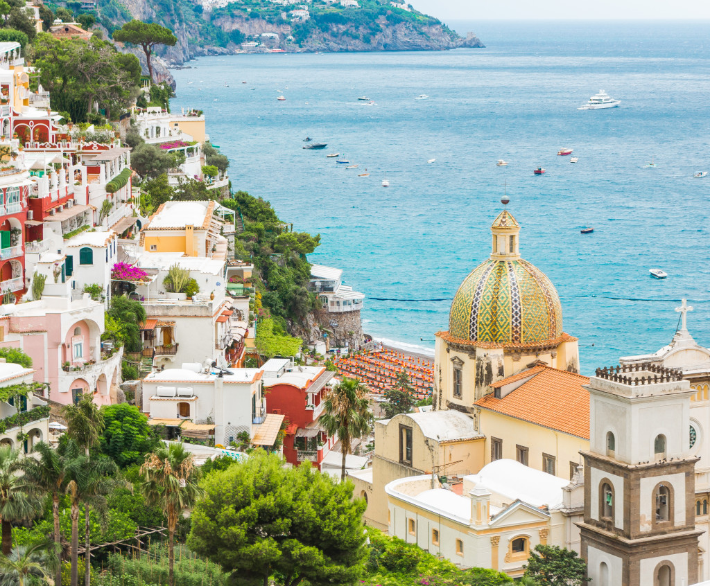 a stroll through positano