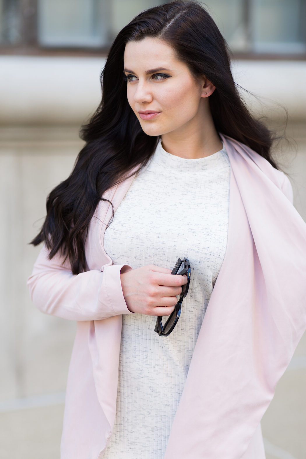 Cupcakes and Cashmere Laswell Drape Coat