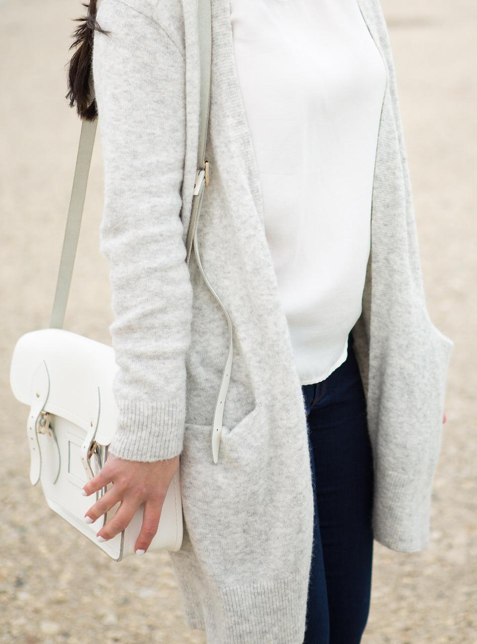 White Cambridge Satchel Bag