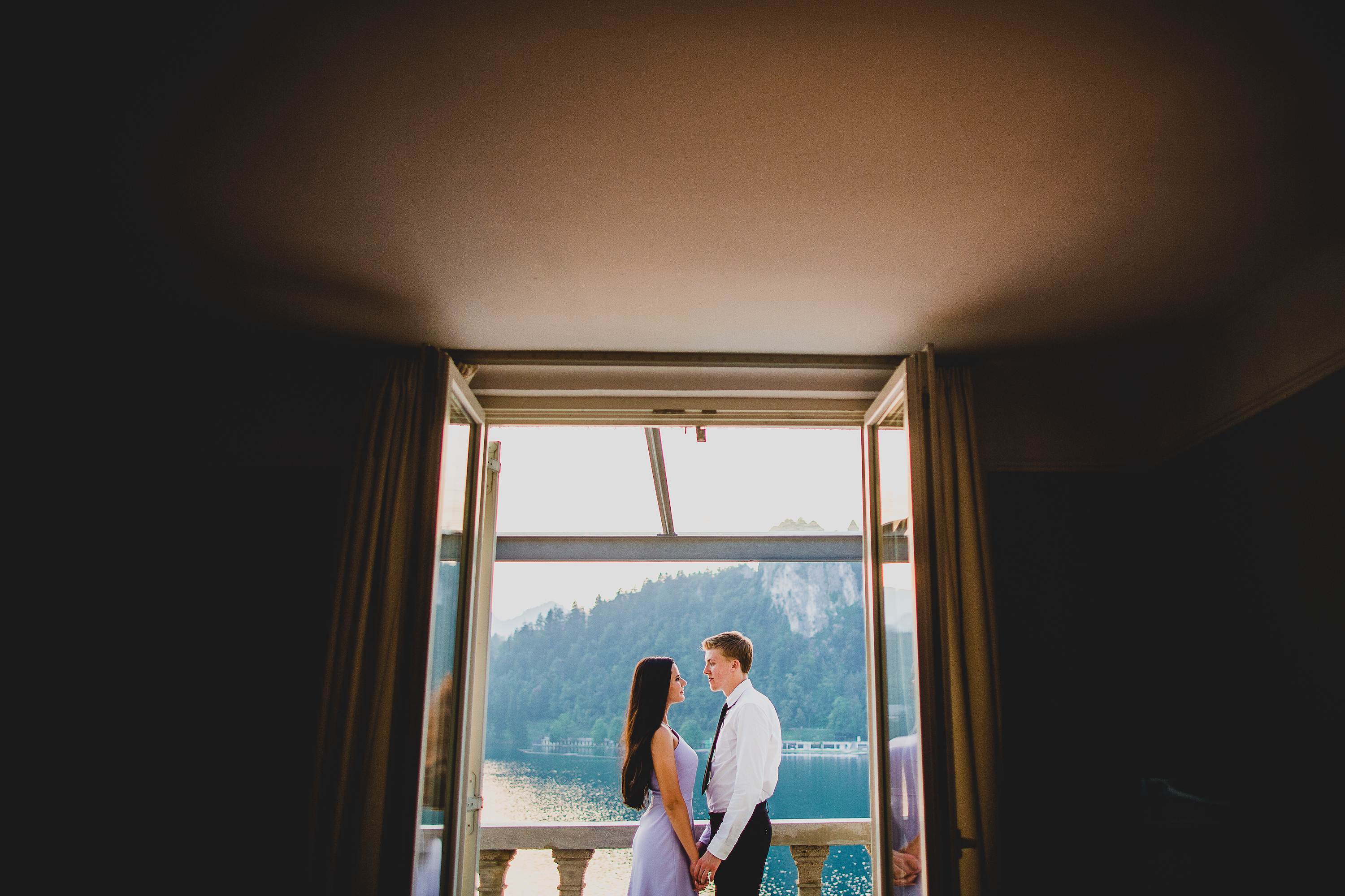 Lake Bled Slovenia Wedding