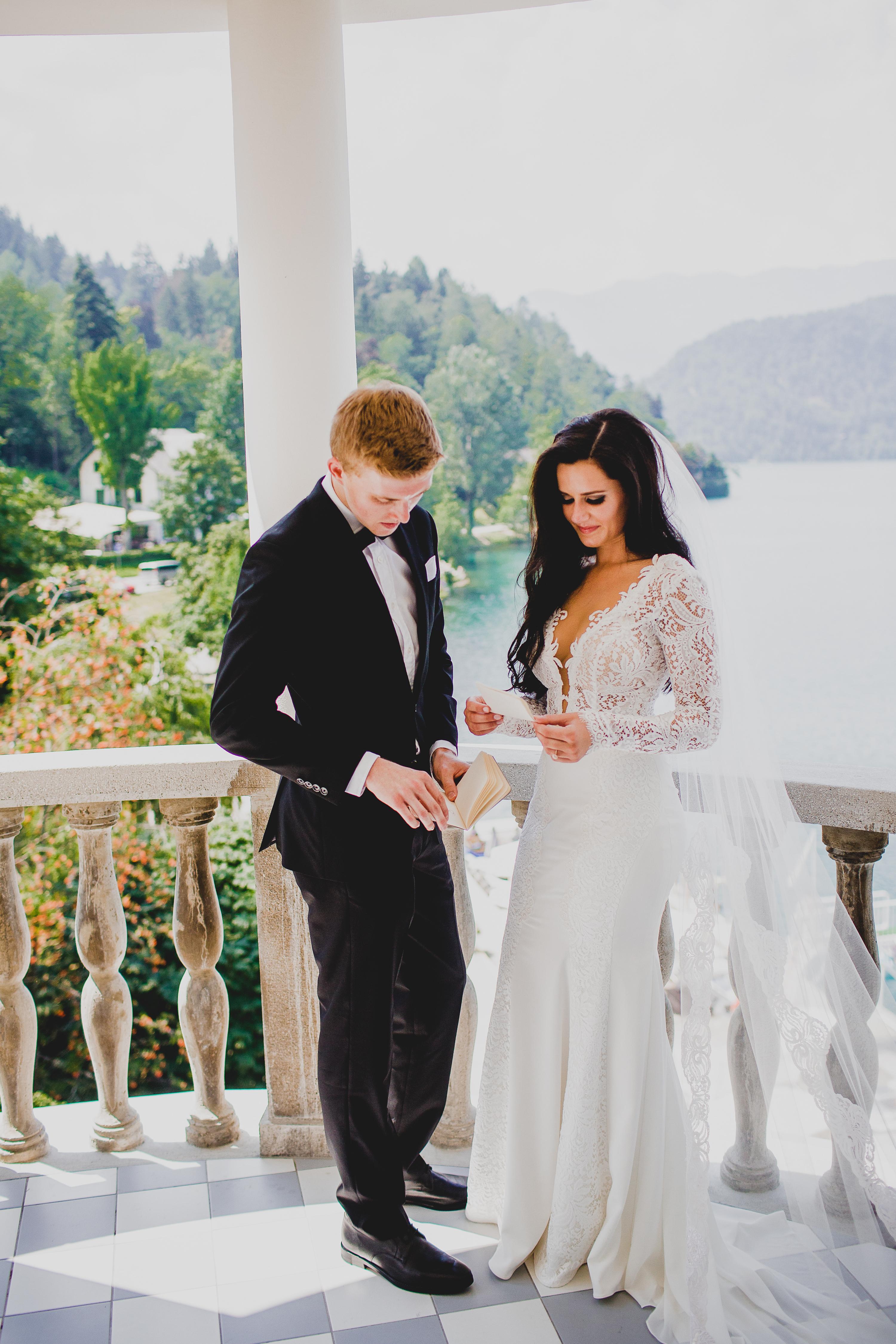 Lake Bled Slovenia Wedding